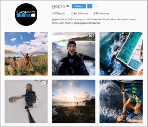 13 sposobów na zwiększenie sprzedaży na Instagramie nagrywaj filmy i zdjecia w akcji