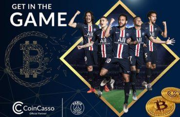 CoinCasso oficjalnym partnerem Paris Saint-Germain!